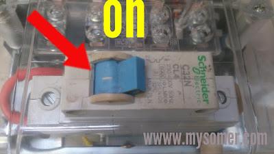 cara mengisi pulsa listrik terlanjur kehabisan nol meter