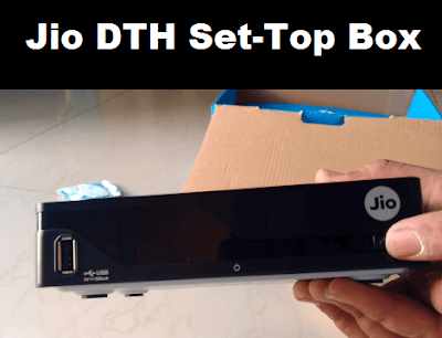 Jio DTH Set-Top Box