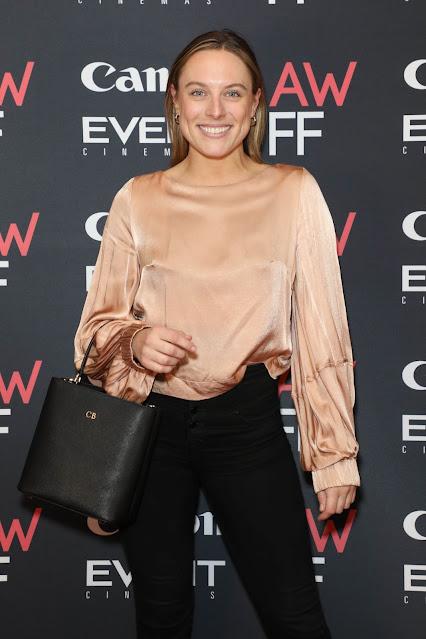 Casey Burgess at 2021 Australian Woman's Film Festival Launch