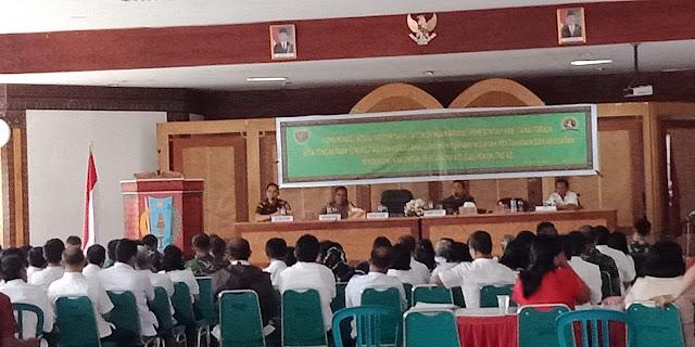 Perkuat Pertahanan TNI AD, Kodim 1414 Tana Toraja Bangun Komunikasi Sosial dengan Pemerintah