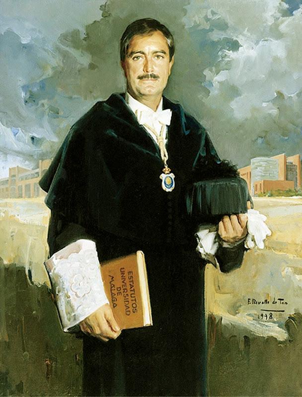 José María Martín Delgado, Félix Revello de Toro, Revello de Toro, Pintores Malagueños, Retratos de Revello de Toro, Pintor español, Pintores de Málaga