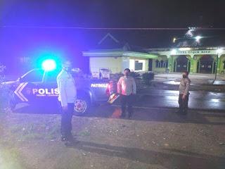 Tak Hentinya, Kanit Spkt Polsek Cendana Laksanakan Patroli Blue Light