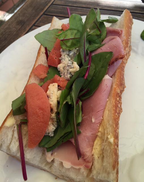 The General Food Store, ham baguette