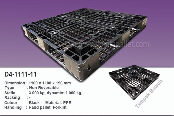 Pallet Plastik 1100x1100x120mm | Harga dan Spesifikasi