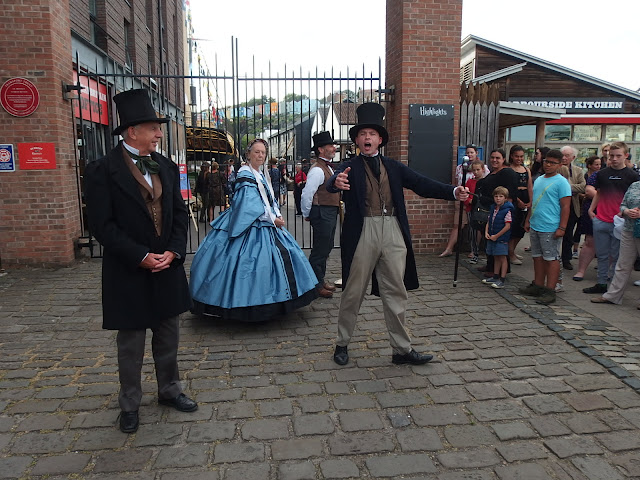 Mr Brunel welcomes everyone to the SS Great Britain