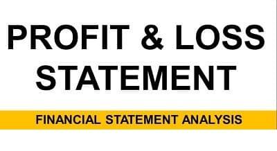 Profit and Loss Statement (P&L) Definition - Format, Entries, Debit & Credit Side