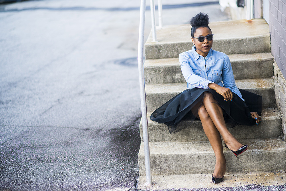 How to style a Mini Tulle Skirt