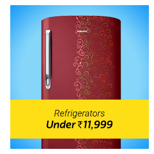 Refrigerator under Rs. 11999 only.
