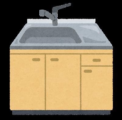 シンク・流し台のイラスト