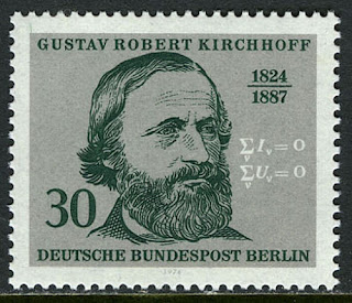 Germany-Berlin Gustav R.Kirchhoff, Physicist, 1974
