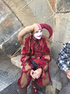 A Jester in Prague, Czech Republic