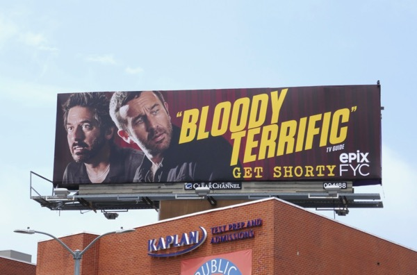 Get Shorty season 1 Emmy FYC billboard