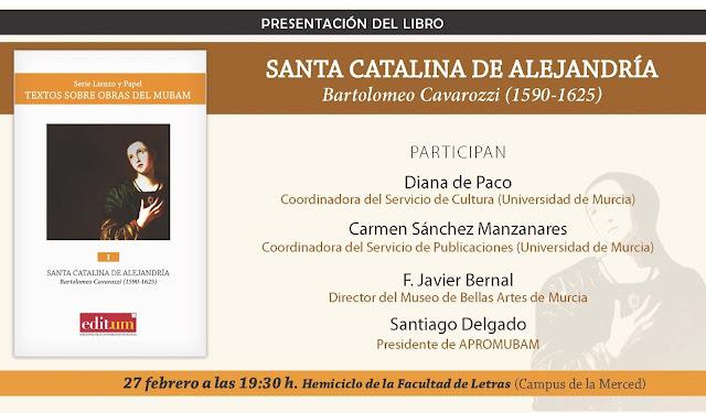 Presentación de libro: Santa Catalina de Alejandría
