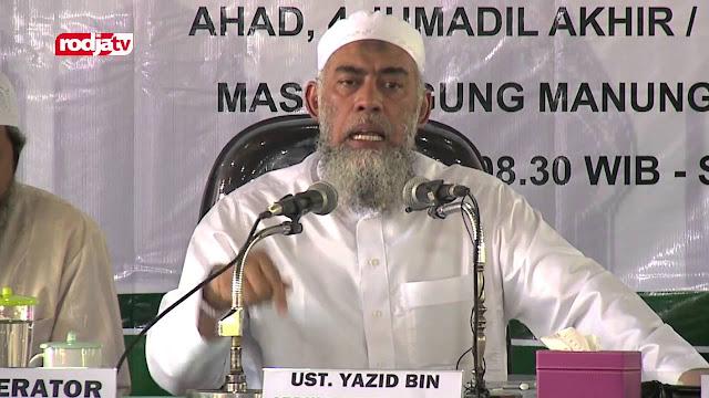 Ustadz Yazid bin abdil qadir Jawwas