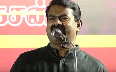 Tn Polls – Naam Tamilar Seeman Election Campaign speech at chennai – High Lights