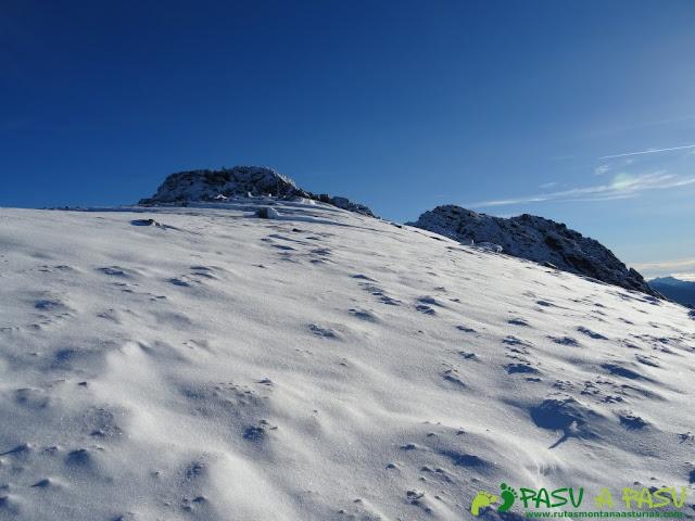 Arista nevada del San Justo