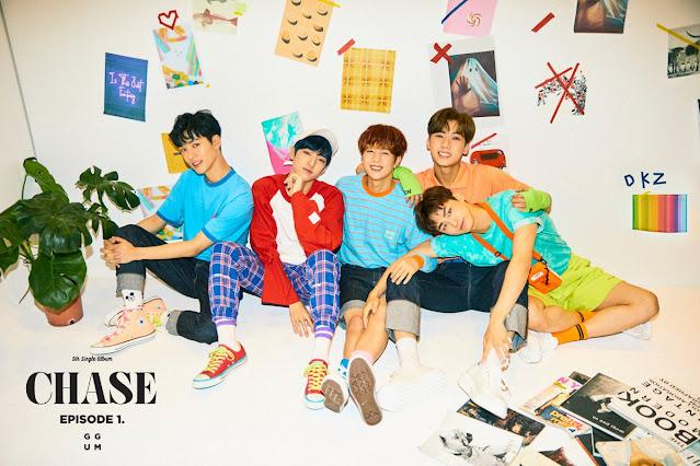 DONGKIZ 동키즈 hacen comeback con 'CHASE EPISODE 1. GGUM'.