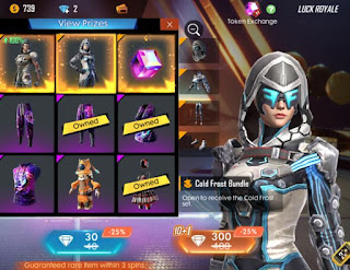 Bundle Cold Frost Free Fire