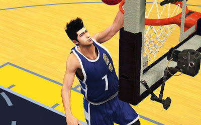 SlamDunk 2K13 PC Mod Sendoh Cyberface Patch