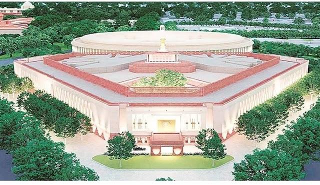 माननीय प्रधानमंत्री Narendra Modi जी के कर-कमलों से नए संसद भवन का भूमिपूजन एवं शिलान्यास ।