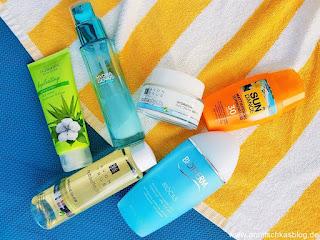 Travel: 6 Face Produkte die du unbedingt im Urlaub brauchst! - www.annitschkasblog.de