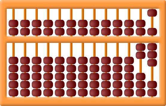 Belajar matematika dengan sempoa