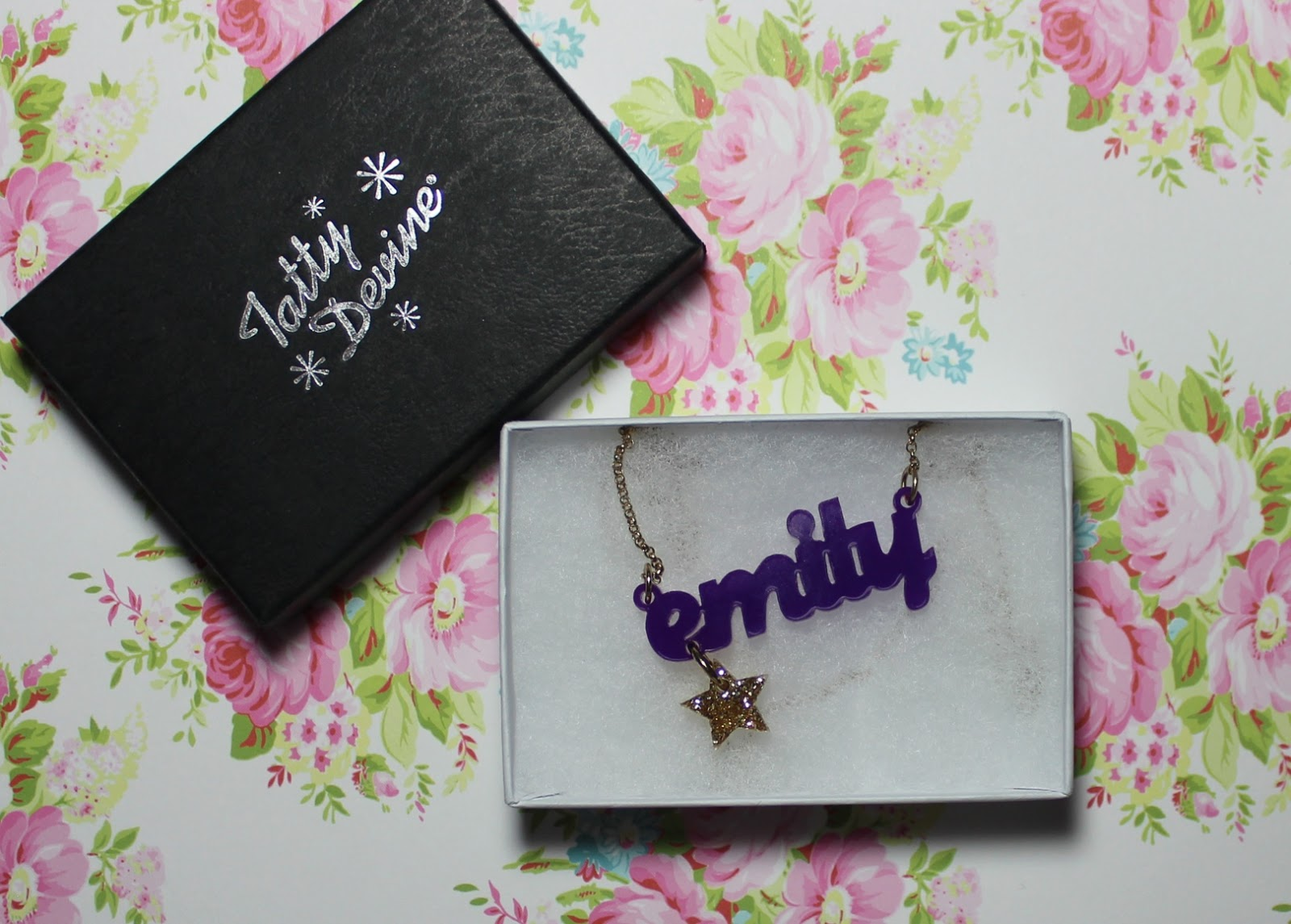 tatty devine name necklace review