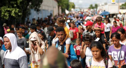 ORGANIZER FOR MIGRANT CARAVAN FROM HONDURAS HAS BEEN DETAINED IN GUATEMALA