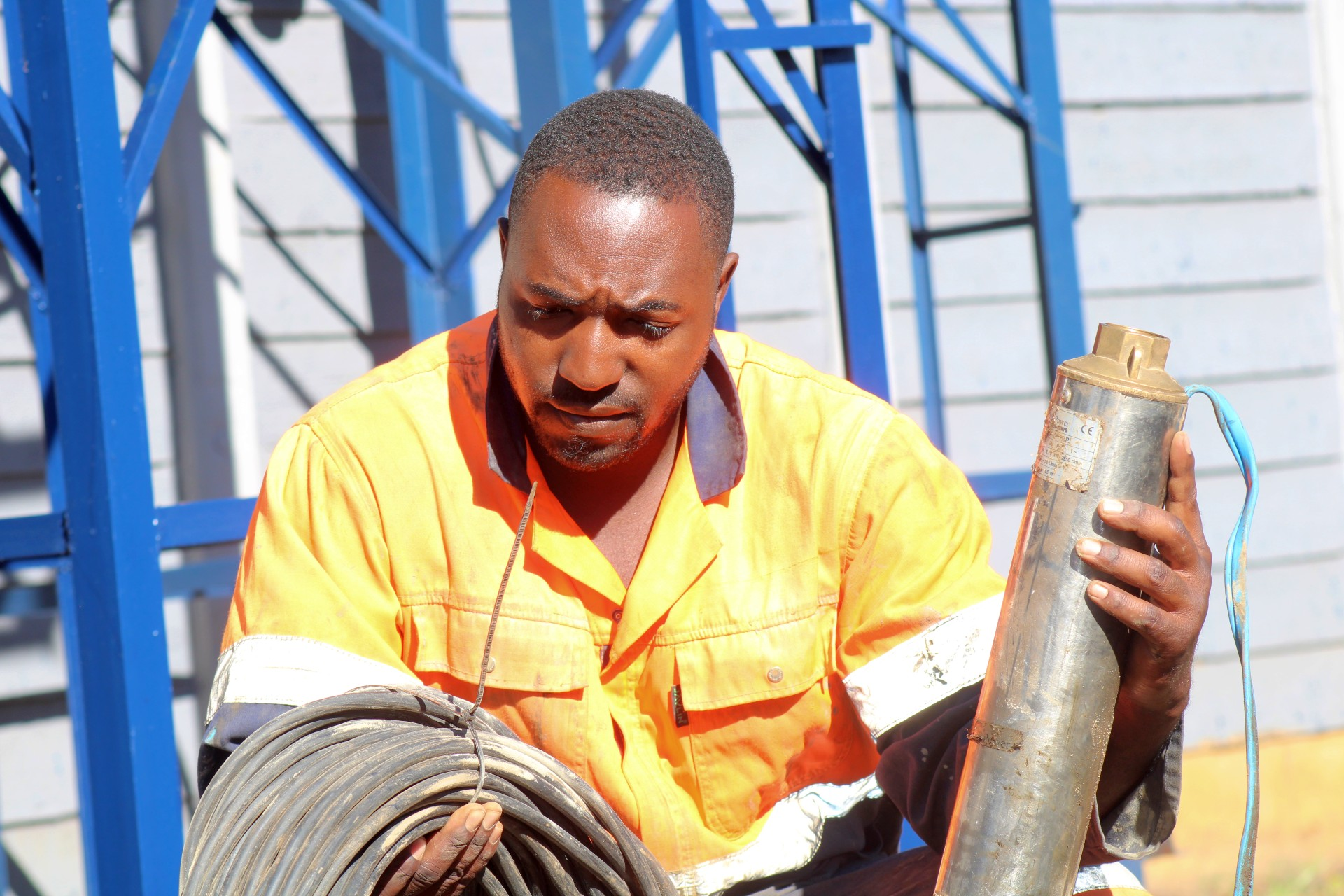 Steps Involved in Drilling A Borehole In Zimbabwe