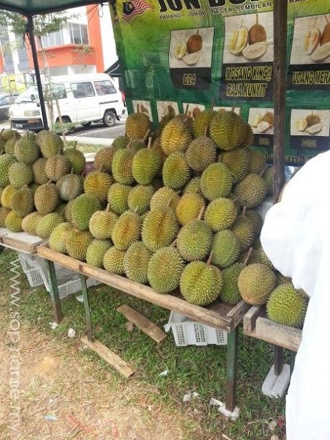 Durian kini makanan eksklusif