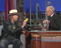Neil Young mit David Letterman