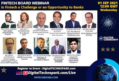 Meet The Global Fintech Leaders from Africa, Asia, MENA, Europe - Fintech BOARD Webinar - Open For All