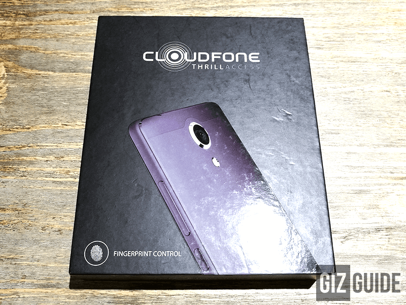 The black new box of CloudFone