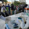 Ratusan Orang Pedagang dan Pembeli di Pasar Pagi Salatiga Jalani Rapid Tes, 9 Orang Dinyatakan Reaktif Covid-19