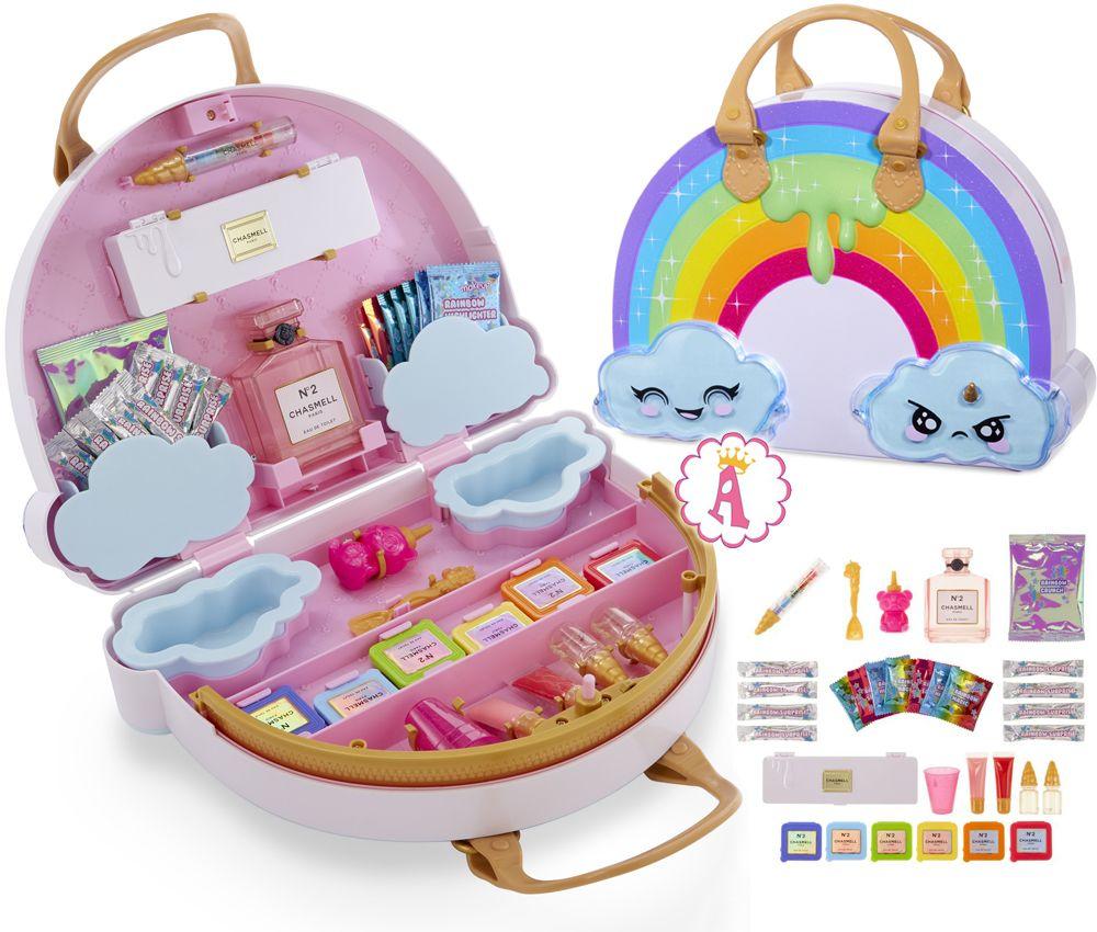 Радужная сумка набор для творчества Poopsie Chasmell Rainbow Slime