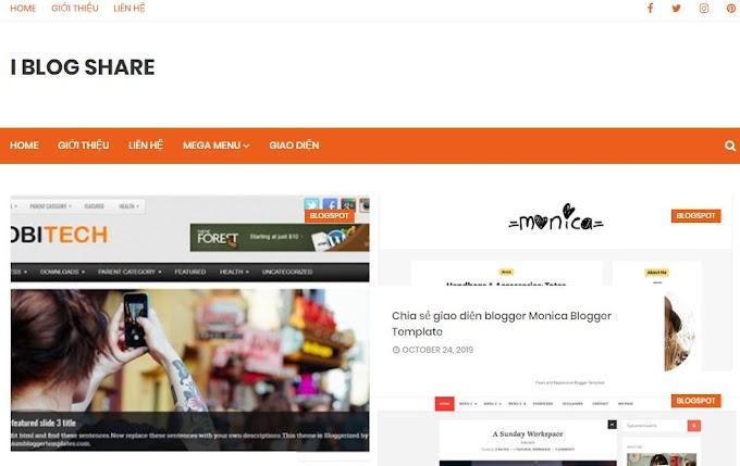Giới thiệu trang blog I Bblog Share