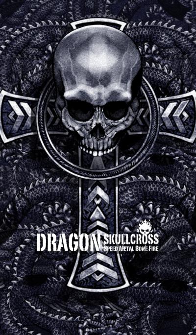 Dragon skullcross