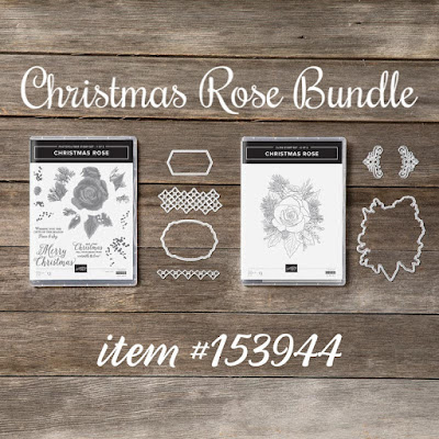 Christmas Rose Bundle - Stampin' Up!'s Christmastime is Here Medley - item #153944