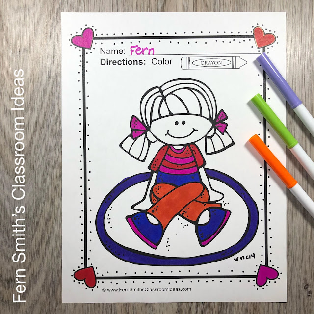 You will LOVE the 68 Back to School Coloring Pages that come in this Back to School coloring pages resource! #FernSmithsClassroomIdeas