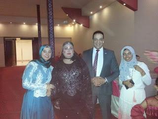 بالصور:  عقد قران وزفاف نجل شقيقة الاعلامية نور السبكى