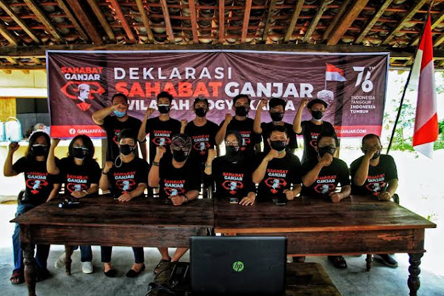 Sahabat Ganjar Deklarasi di 34 Provinsi, dr. Pandu: Jangan Dukung Pemimpin yang Tak Berkerja Keras Tangani Pandemi