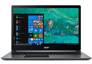 laptop gaming Acer Swift 3 SF315 41 dengan ryzen 5