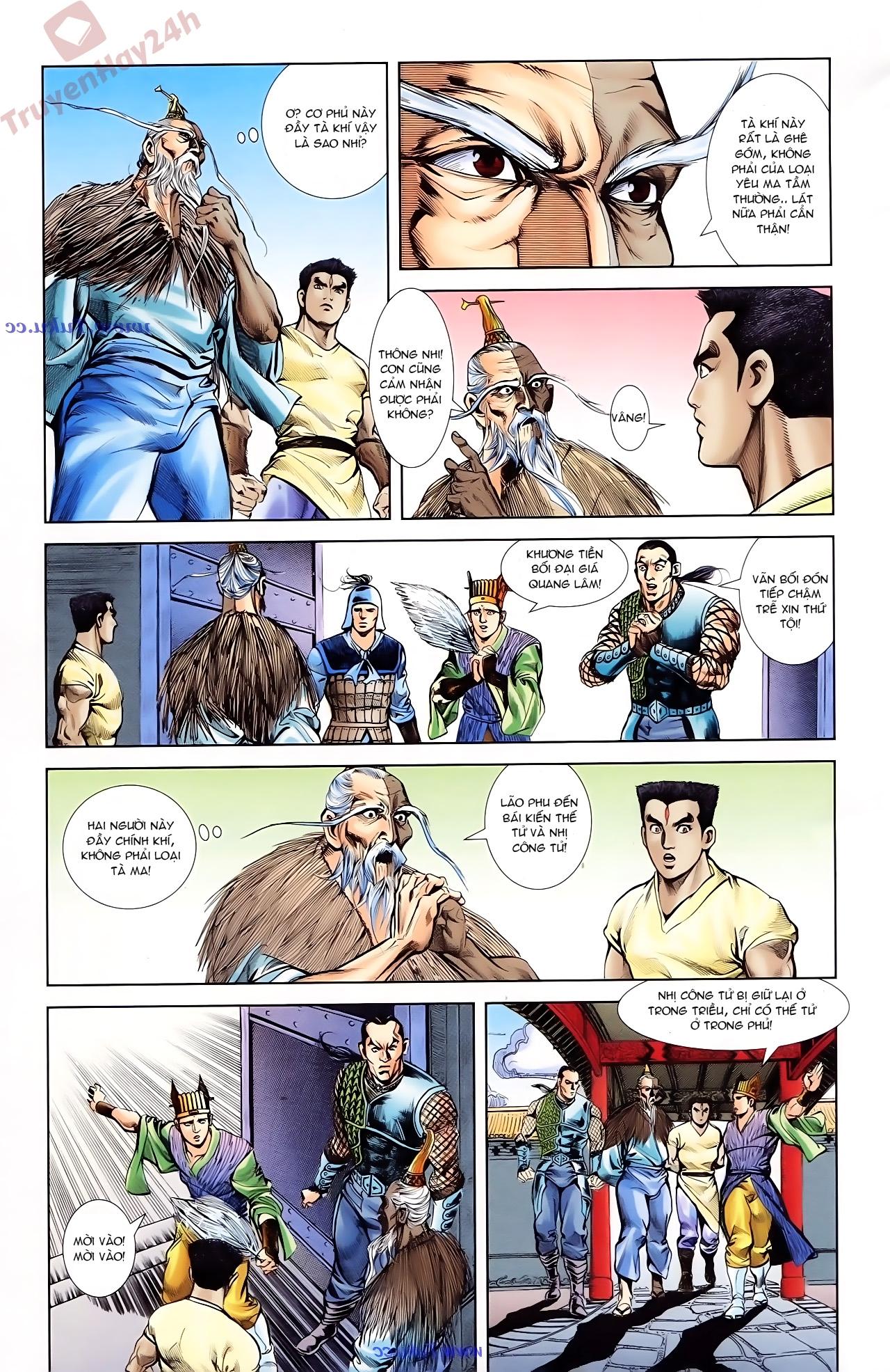Cơ Phát Khai Chu Bản chapter 75 trang 21