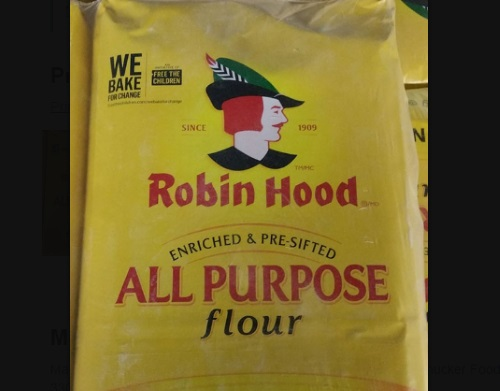 Product Recall Robin Hood brand All Purpose Flour