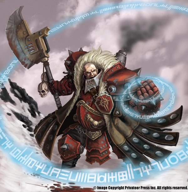 Privateer Press Warmachine KHADOR artworks photo