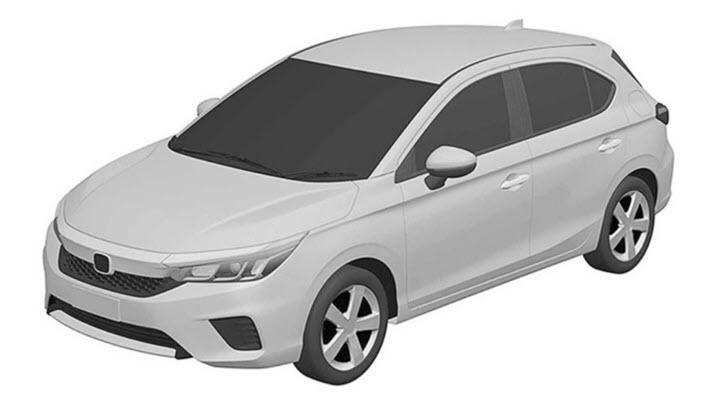 Honda City hatchback lần đầu chạy thử