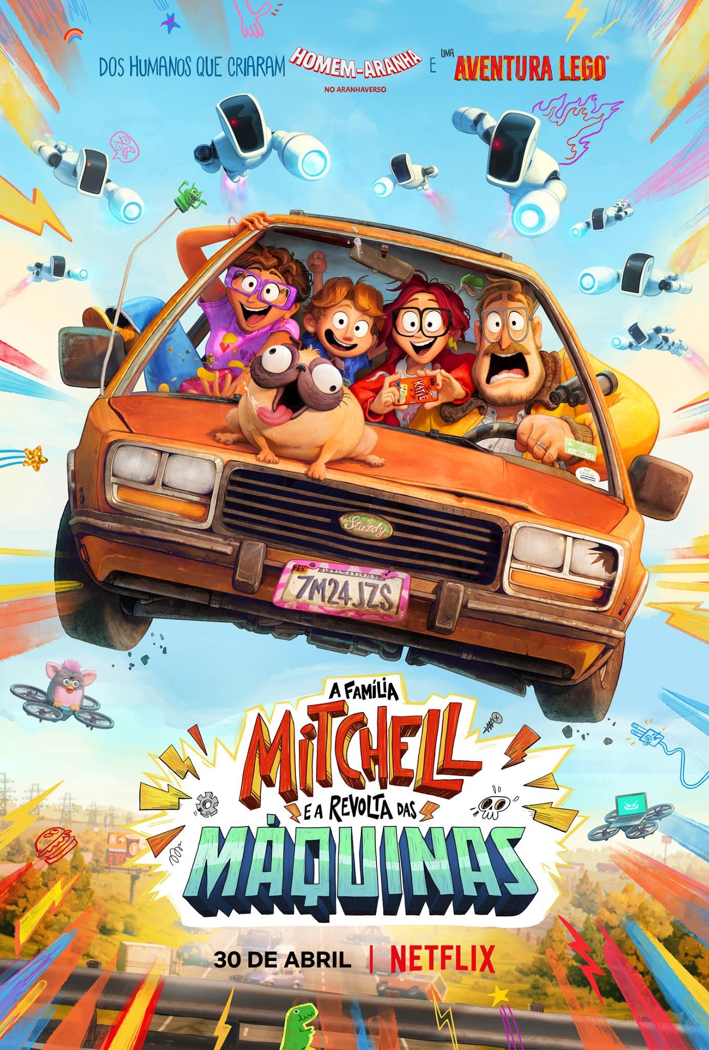 'A Família Mitchell e a Revolta das Máquinas' estreia em Abril na Netflix