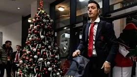 Mesut Oezil Ucapkan Selamat Natal, Netizen Indonesia Berkumpul