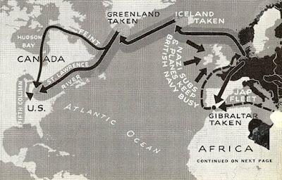 Hipotética invasión nazi de Estados Unidos - revista LIFE