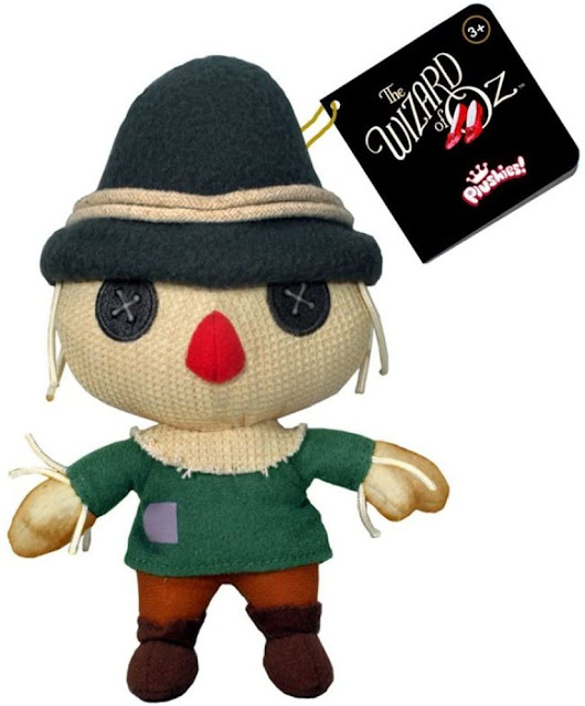 The scarecrow needs a brain! You'll love this version of your favorite Wizard of Oz character!